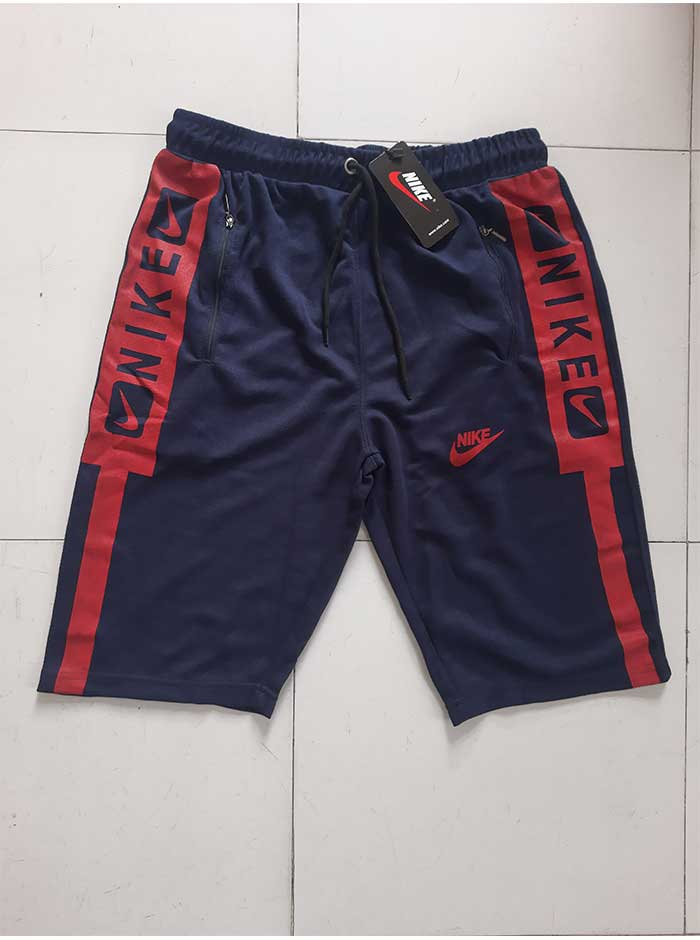 Blue & Red Two Quarter Pant