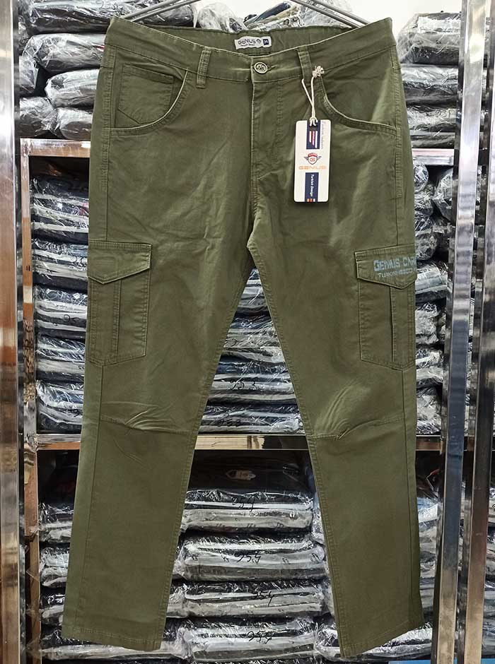 Olive Color Cargo Pant