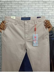 New Stretchable White Twill Pant