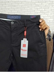 New Stretchable Black Twill Pant